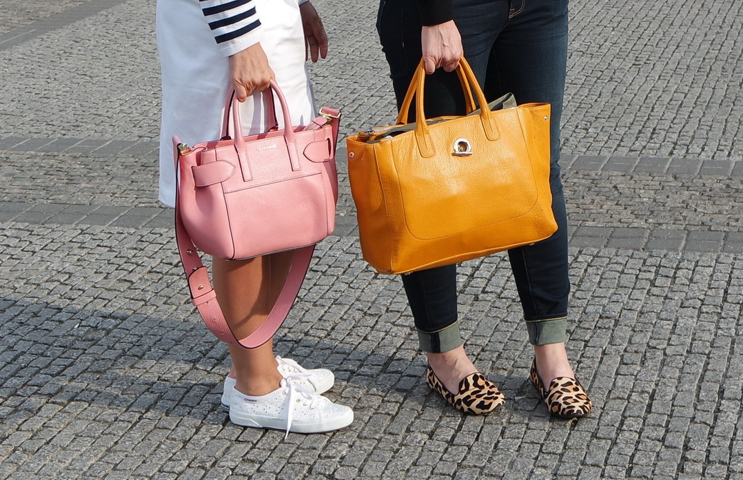 Romantique and Rebel handbags coccinelle lamarthe berlin street style