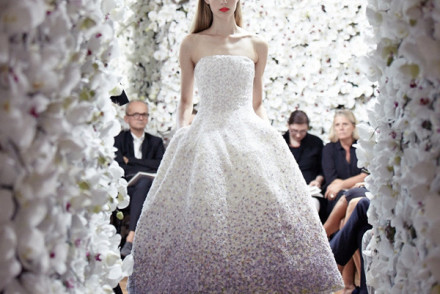 The Corolla dress. Raf Simon's first collection for Dior in 2012.