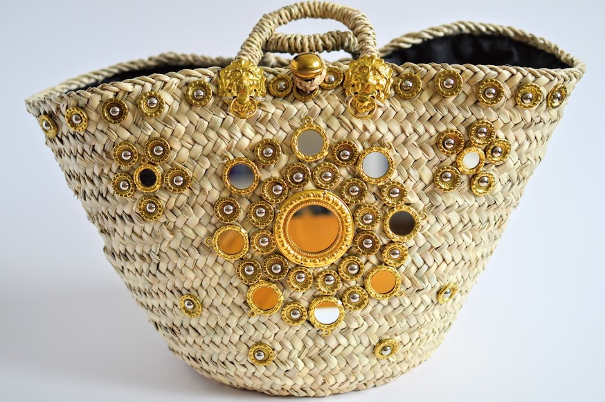 Sicily Bag Straw Coffa basket