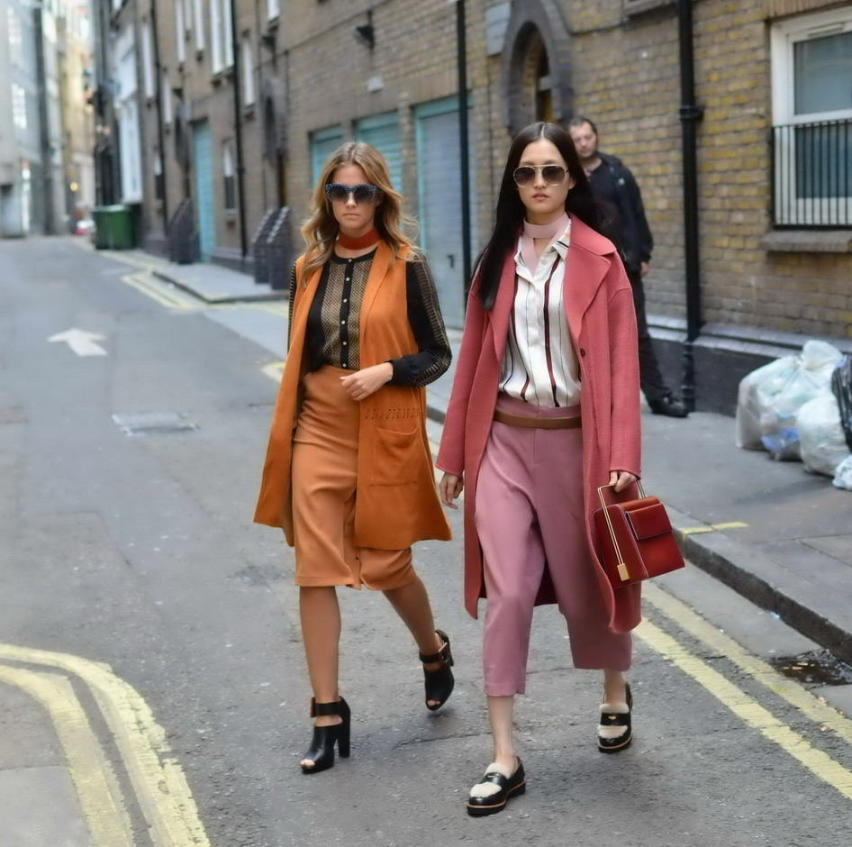 London Street Style Fashion Week September 2015