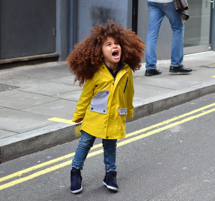 Little fashionistas start young in attention seeking