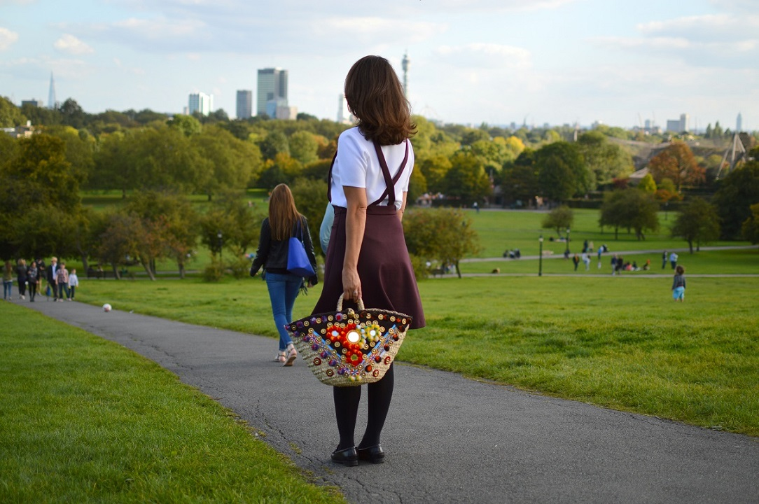 Primrose Hill Park Sicily Bag Street style london