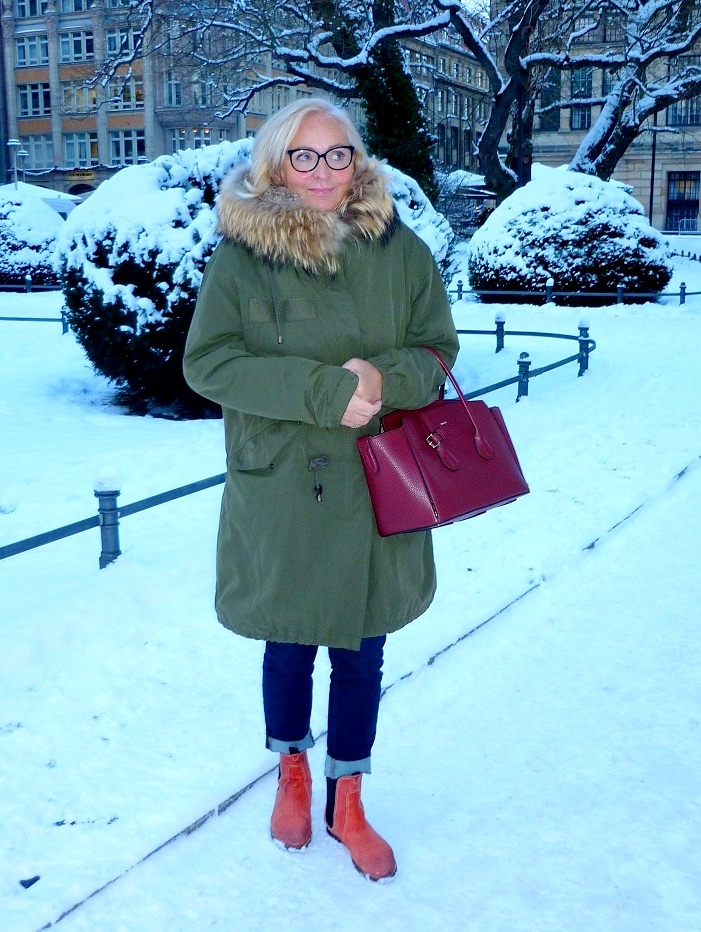 Fur Parka Berlin street style chic at 62
