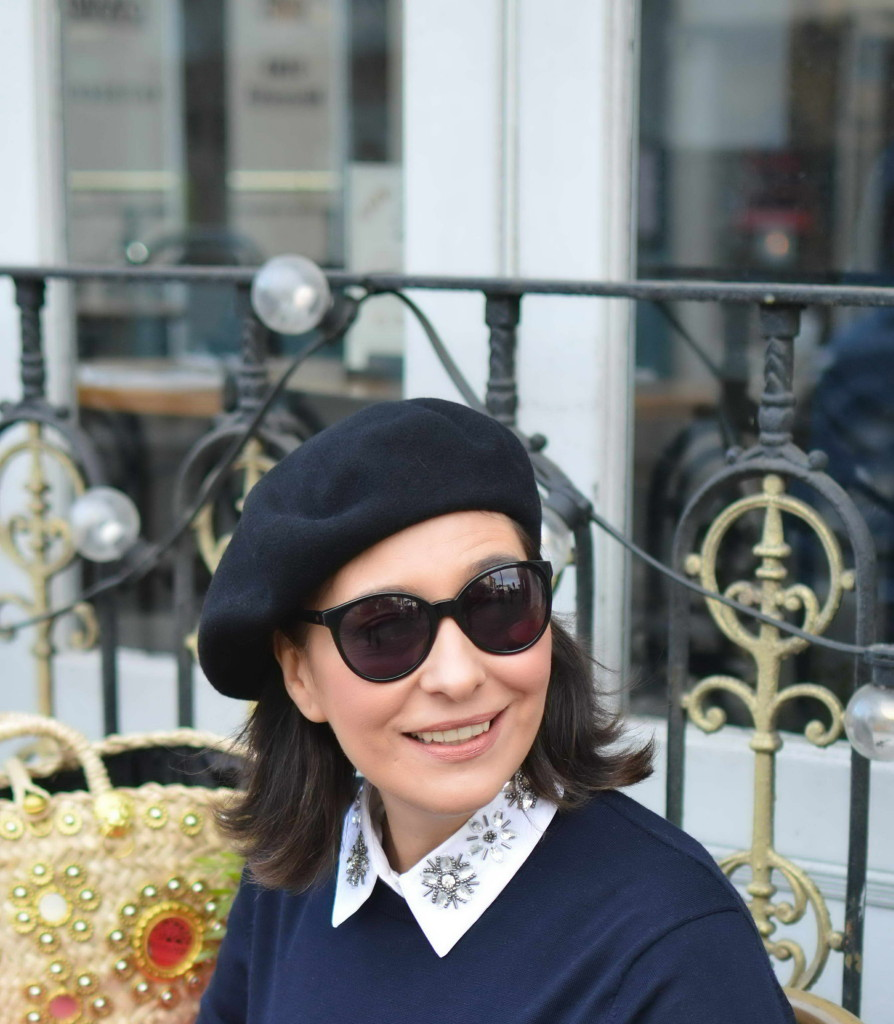 French Beret Street style London
