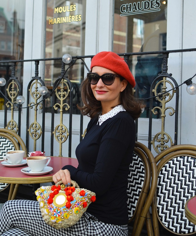 red Beret Street Style London