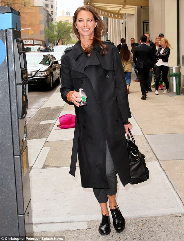 Black Trench Turlington