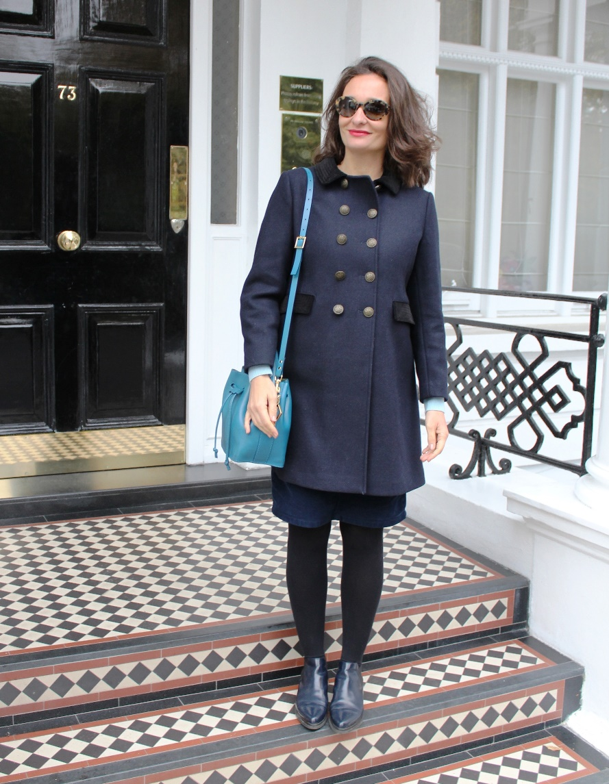 Archive by Alexa Chung Marks and Spencer coat Kensington