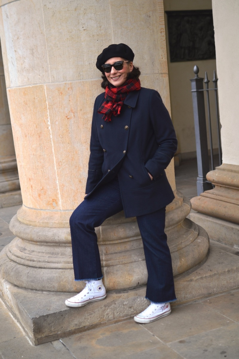 ebel winter pea coat berlin streetstyle